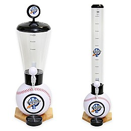 Drink Tubes™ Baseball Drink Dispenser with Baseball Tap