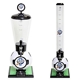 Drink Tubes™ Soccer Ball Drink Dispenser with Upgraded Tap in White