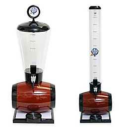 Drink Tubes™ Barrel Drink Dispenser with Standard Tap in Brown