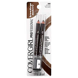 CoverGirl® 2-Count Brow and Eyemakers Pencil in Soft Brown
