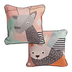 Nursery Works Wee Gallery Organic Cotton Menagerie Toddler Pillow