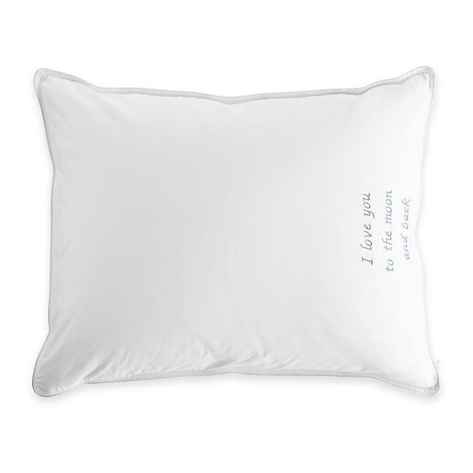 Alternate image 1 for The Pillow Bar® Breakfast in Bed™ Petite Down Alternative Pillow in White