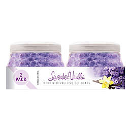 Smells BeGone® 2-Pack Lavender Vanilla Odor Neutralizing Gel Beads