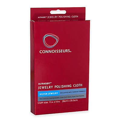 Connoisseurs® Silver Jewelry Polishing Cloth Kit