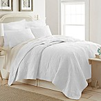 Ocean View King Quilt in White