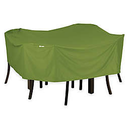 Classic Accessories® Sodo Square Patio Table and Chair Cover in Green