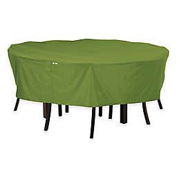 Classic Accessories® Sodo Round Patio Table and Chair Cover in Green