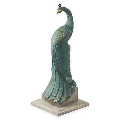Bombay® Royal Peacock Outdoor Statuary