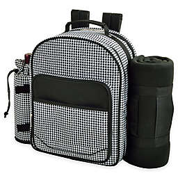 Picnic at Ascot Picnic Backpack Cooler for Two with Blanket