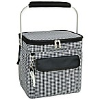 Picnic at Ascot Large Multi-Purpose Cooler in Houndstooth