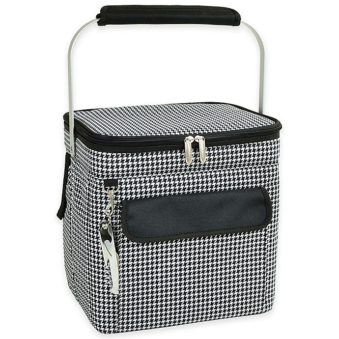 Alternate image 1 for Picnic at Ascot Large Multi-Purpose Cooler in Houndstooth