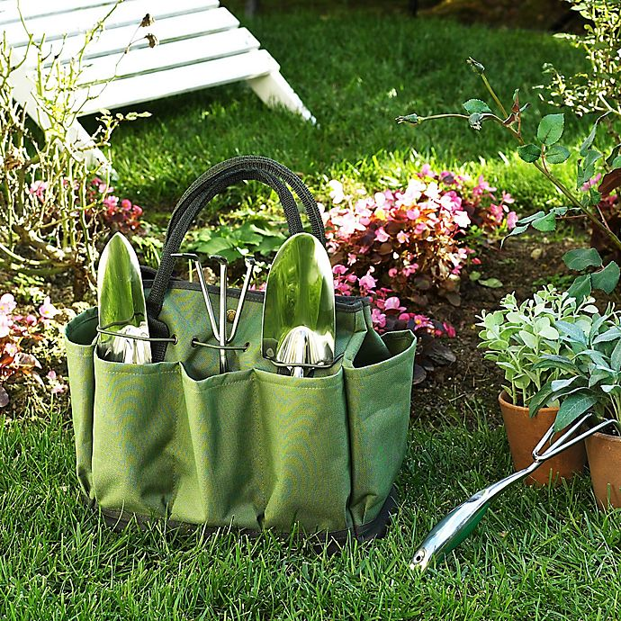 Alternate image 1 for Picnic at Ascot Eco Gardening Tote with Tools