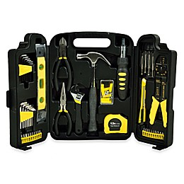 129-Piece Home Toolkit in Black