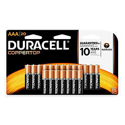 Duracell Coppertop 20-Pack AAA Batteries