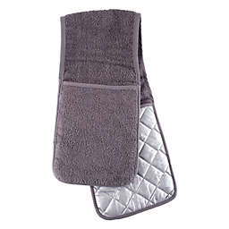 Double-Sided Oven Mitt in Grey