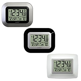 La Crosse Technology Atomic Digital Clock with In/Outdoor Temperature