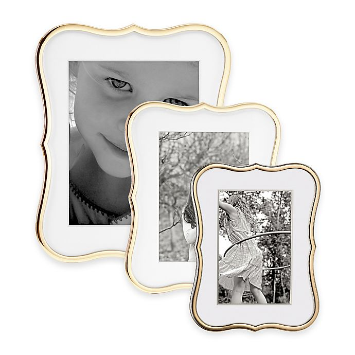 kate spade new york Crown Point™ Gold Picture Frames | Bed Bath & Beyond