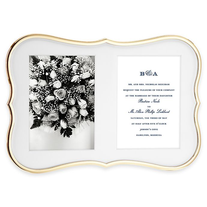 Kate Spade New York Crown Point Gold 2 Opening Picture Frame Bed