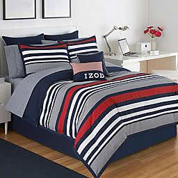 IZOD® Varsity Stripe Reversible Comforter Set