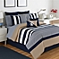 Part of the IZOD® Classic Stripe Comforter Set