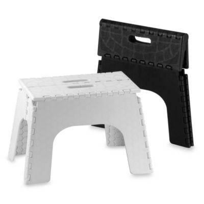 Ez Foldz 12 Inch Folding Step Stools Bed Bath Amp Beyond