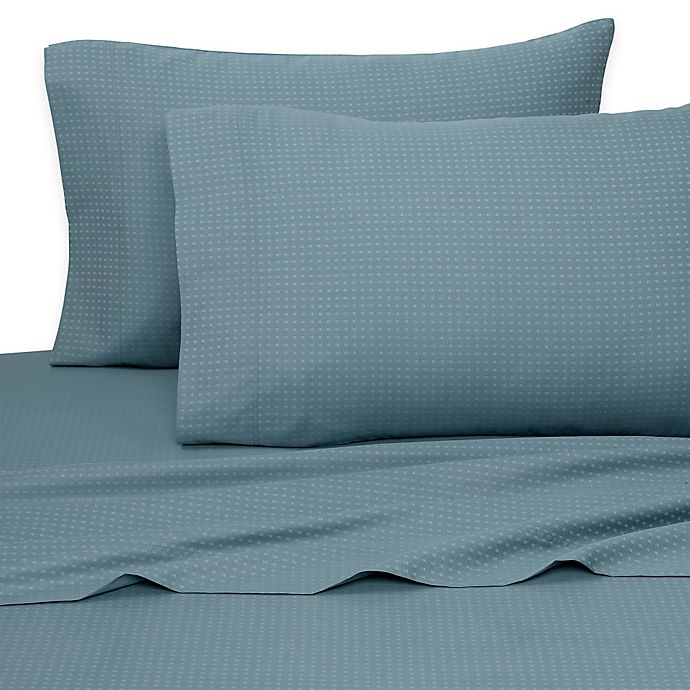 Alternate image 1 for Aero Sateen 700-Thread-Count Standard Pillowcases in Teal (Set of 2)