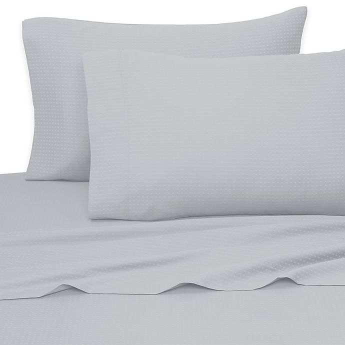 Alternate image 1 for Aero Sateen 700-Thread-Count King Sheet Set in Light Blue