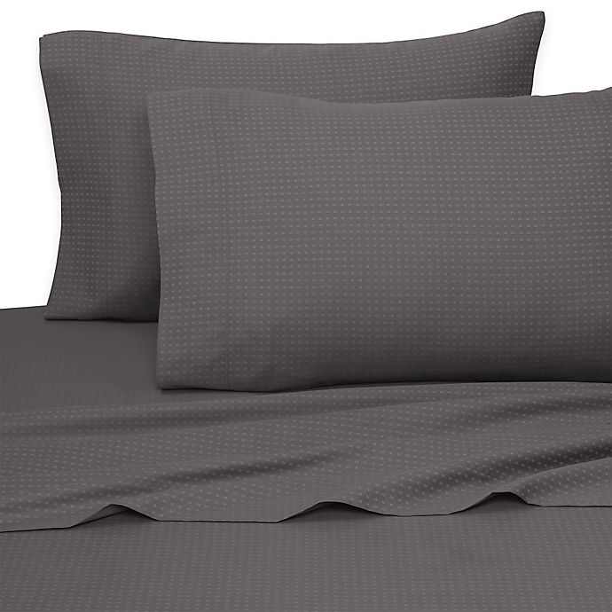 Alternate image 1 for Aero Sateen 700-Thread-Count King Sheet Set in Gray
