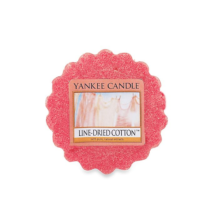 Yankee Candle 174 Line Dried Cotton Tarts 174 Wax Melts Bed