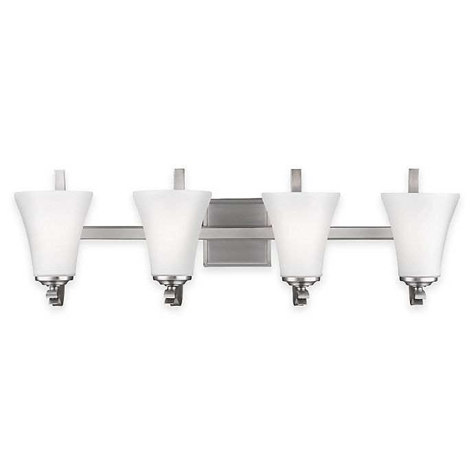 Moving Bathroom Vanity Light: Buy Feiss® Summerdale 4-Light Bath Vanity In Satin Nickel