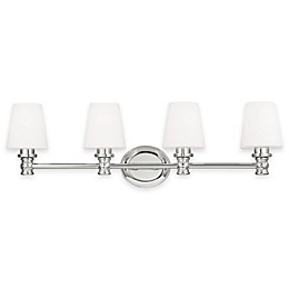 Feiss® Xavierre 4-Light Wall Sconce in Polished Nickel