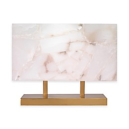 Ghost Horizon Table Lamp with Alabaster Shade