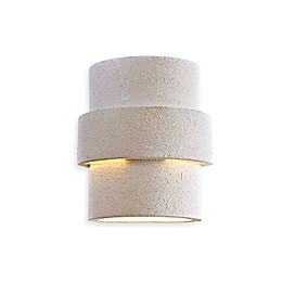Minka Lavery® Ceramic 1-Light Outdoor Wall Sconce in White