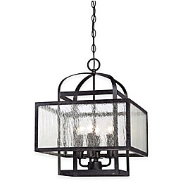 Minka Lavery® Camden Square 4-Light Chandelier in Charcoal