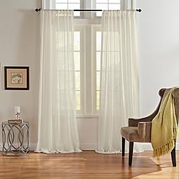 Asher Rod Pocket Light Filtering Window Curtain Panel