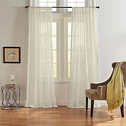 Asher Rod Pocket Light Filtering Window Curtain Panel (Single)