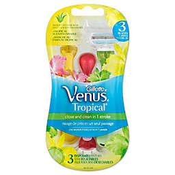 Gillette® Venus® 3-Count Tropical Disposable Women's Razor
