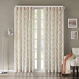 INK+IVY Tuscany Rod Pocket Geometric Window Curtain Panel