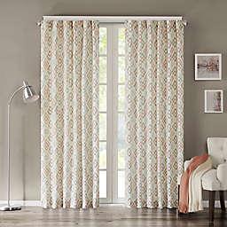 INK+IVY Tuscany Rod Pocket Geometric Window Curtain Panel