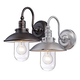 Minka Lavery® Downtown Edison 1-Light Wall-Mount Outdoor Light