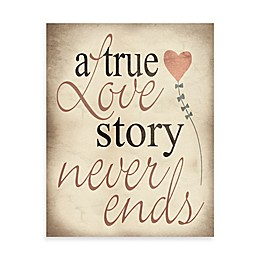 Hearts and Love Story Wall Art