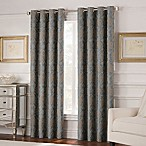 Valeron Belvedere 84-Inch Grommet Top Room-Darkening Window Curtain Panel in Blue