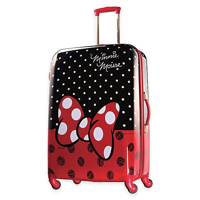 Alternate image 1 for American Tourister® Disney® 28-Inch Hardside Spinner Checked Luggage