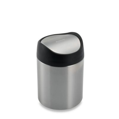 Simplehuman 174 Brushed Stainless Steel Fingerprint Proof 1 1