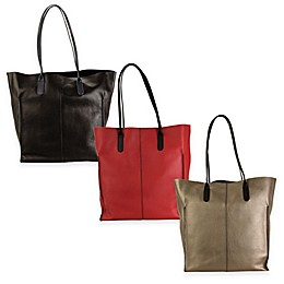 Hadaki Leather Market Tote