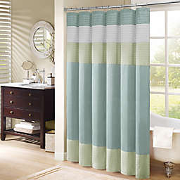 Madison Park Amherst 72-Inch x 72-Inch Shower Curtain in Green