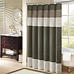 Madison Park Amherst 72-Inch x 72-Inch Shower Curtain in Natural