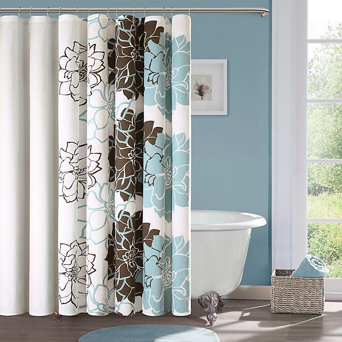Alternate image 1 for Madison Park Lola Cotton Shower Curtain