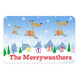 Weather Guard™ 17.5-Inch x 26.5-Inch Flying Reindeer Door Mat