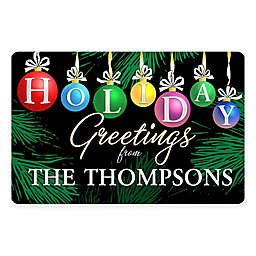 Weather Guard™ 17.5-Inch x 26.5-Inch Christmas Ornaments Door Mat